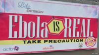 Sierra Leone Ebola health warning