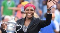 2014 US Open champion Serena Williams