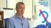 Richard Williams of Action on Hearing Loss Cymru
