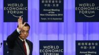 Li Keqiang at World Economic Forum