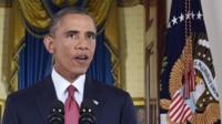 US President Barack Obama gives his address on targeting Islamic State (10 September)