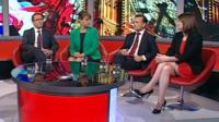Owen Smith, Leanne Wood, Alun Cairns and Kirsty Williams