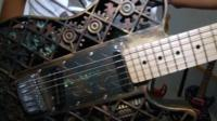 3D printed guitar