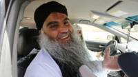 Abu Qatada after his acquittal in Jordan on 24 September 2014