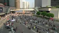 Thousands of pro-democracy protestors