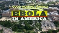 Ebola in America graphic