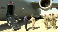 David Cameron visits Camp Bastion