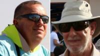 Alan Henning (left) and David Bolam (right)