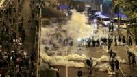 The protests had paralysed parts of central Hong Kong