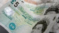 Cash notes UK sterling
