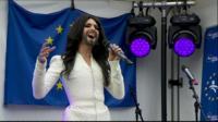 Conchita Wurst in Brussels