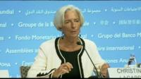Christine Lagarde , IMF head