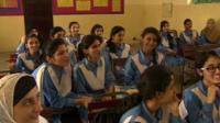 Schoolgirsl in Pakistan