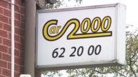 Car 2000 sign