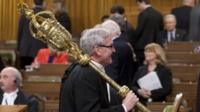 Sergeant-at-Arms Kevin Vickers