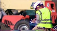 Construction workers in Arkansas