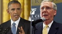 President Obama and incoming Senate Majority Leader Mitch McConnell