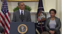 President Obama and Loretta Lynch