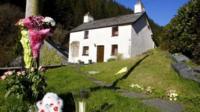 Machynlleth - Mark Bridger's house