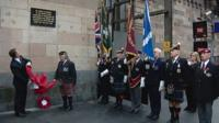 Plaque unveiled in Central Station