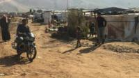 Newsbeat visits Lebanon's Bekaa Valley refugee camp
