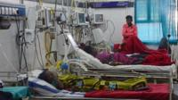 Indian patients, who suffered from complications after undergoing mass sterilisation