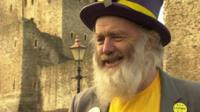 """Monster Raving Loony candidate Hairy Knorm Davidson wants people to """"have fun"""""""