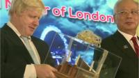 Boris Johnson in Kuala Lumpur