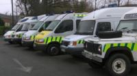 Old London Ambulances