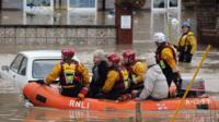 St Asaph flood