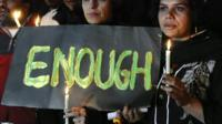 Vigil in Karachi following fatal school attack