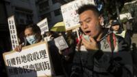 Protests in Macau