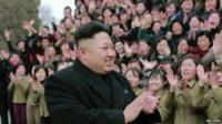 North Korean leader Kim Jong-un - photo released by North Korea's Korean Central News Agency