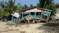 Tsunami impact in Sri Lanka, 2004