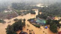 Flooding in Kuala Tahan