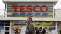 A Tesco shop