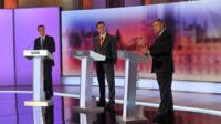 The BBC Prime Ministerial debate in 2010