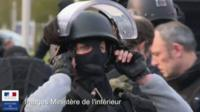 French forces prepare for raids