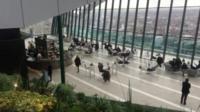 "Sky garden on top of ""walkie talkie"" tower"