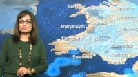 BBC weather presenter Sue Charles