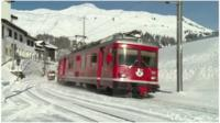 Tram in Davos