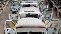 cars in factory