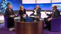 Vernon Coaker, Penny Mordaunt, Andrew Neil and Nick Robinson