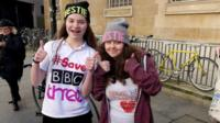 Campaigners against proposals to turn digital station BBC Three into an online-only channel.