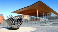 Welsh Assembly in Cardiff Bay