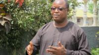 Sierra Leone's vice-president, Samuel Sam-Sumana - 1 March 2015