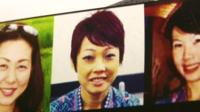 Missing crew members of MH370