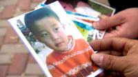 Five year old Xiaosong disappeared in 2007
