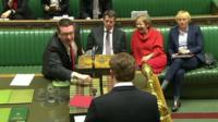 Danny Alexander is heckled by Labour MPs
