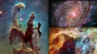 Composite image of Hubble images